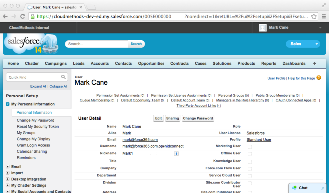 6. Auto-provisioned User Detail Page