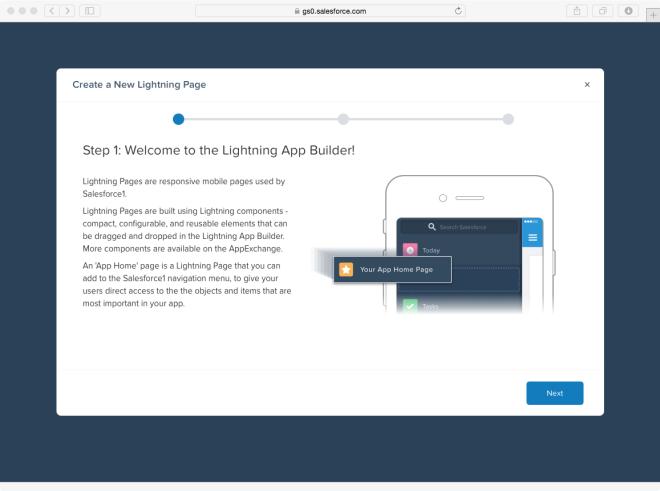 Lightning App Builder 1